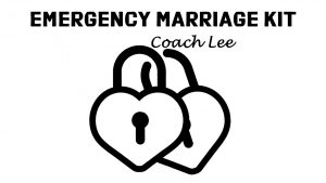 Emergency Marriage Kit
